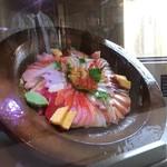 ほうせい丸 - チャレンジ丼レプリカ