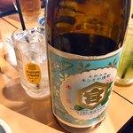 鳥椿 - 瓶ホッピーの中焼酎は自分で好みの量を入れられる