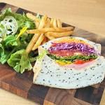 ベシャメルカフェ - 【SANDWICH】スプラウトサンドイッチ