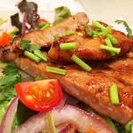 亜州食堂 チョウク - ムーヤーン(豚トロの網焼き:タイ料理)/DinnerMenu