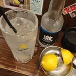 品濃酒場 - レモンサワーセット