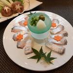 料理 吉祥寺 わるつ - 太刀魚のシャブシャブ