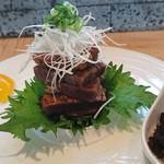 料理 吉祥寺 わるつ - 和牛の菊水吟醸麹漬け