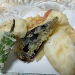 さくら - メインは天ぷらですね。