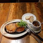 86846210 - 鶏モモ肉の窯焼きステーキ1,080円