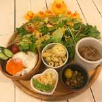 カフェ パンプルムゥス - 限定10食!ロコモコ丼ランチ