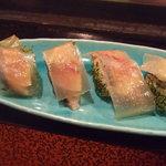 大将寿司 - 昆布〆。