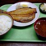 食彩酒房 さいせい - 焼魚定食(ほっけ)