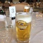 東海カントリークラブレストラン - とり生ビール