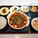 躍飛 - 「麻婆豆腐ランチセット」