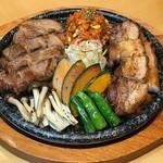 水刺齋 - 食べ比べサムギョプサル(5000円コース)