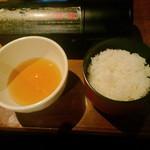 花咲かじいさん - ご飯とタレ