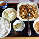 8686577 - 麻婆豆腐定食(500円)
