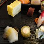 8686782 - 味なんぼ盛り(1260円)大根田楽・ふき・ポテトサラダ・他