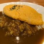 カレー料理の店 白川 - チーズオムレツカレー