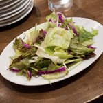 酒場~ル DEN - パスタランチのサラダ