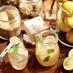 今宵、成田で世界の肉料理とごほうびワインを - 国産ノーワックスレモンの自家製レモネード