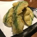 食楽処すみか - アボカド天 ¥490+tax