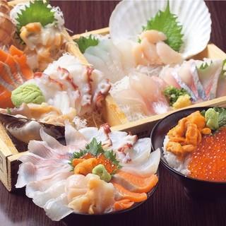 刺身・カニ・ウニ・いくら!本当に美味しい北海道素材が揃う!