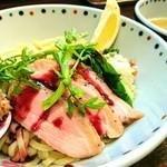 らー麺 あけどや - 鴨つけ麺 2018 FINAL 1000円