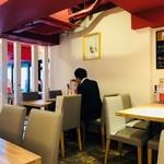 金味徳拉麺 - カウンター&テーブル席あり!