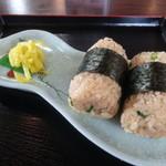 みくら - 料理写真:関宿名物 たぬき俵にぎり