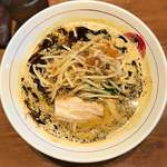 ボウボウラーメン とみ - 料理写真:ボウボウラーメン黒5