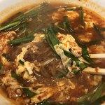 辛麺屋一輪 - 辛麺のアップ