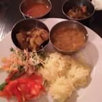 インドレストラン バーワルチー - ランチビュッフェ♪