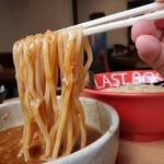 ラストボス - 裏ボスつけ麺辛口900円