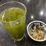 すしざんまい - 緑茶ハイ