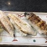 すしざんまい - 太刀魚炙り・大シャコ