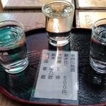 86872470 - 奈良地酒三種飲み比べ