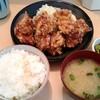 とんかつ 三田 - 料理写真:鳥からあげ定食 800円