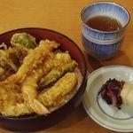銀座 天ぷら 阿部 - 上天丼 1,500円