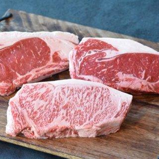 厳選黒毛和牛と熟成牛のステーキ