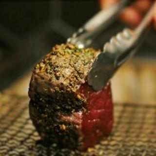 京都美山町の鹿肉の炭火焼き