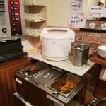 インドレストラン ナンハウス - ライスやチキン、ポテトも食べ放題