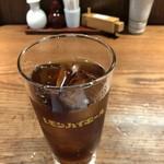 浅草うな鐵 - ウーロン茶