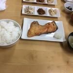 86876758 - 一塩サーモン定食