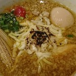 中華そばムタヒロ - 料理写真:チーズカレー鶏そば♪