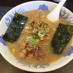 がんこや - メンマチャーシュー麺