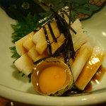 栄鮓 - 2011-07-14山芋たんざく290円