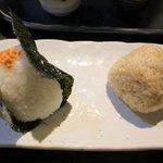 86880680 - 鮭おにぎり&玄米おにぎり