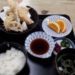 清水屋 - 天ぷら定食1500円