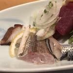 旬の味 たき下 - 真蛸、カマス、初鰹