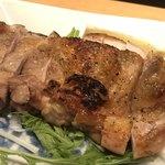 旬の味 たき下 - 地鶏の炭焼き