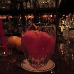 86887019 - 西瓜と檸檬の食べるカクテル、エルダーフラワーの風味