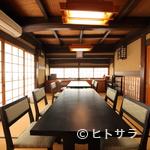 いっぷく亭 - 接待やお祝いごとに最適な個室で、夏が旬の鱧料理を堪能