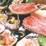 魚松 - 口の中でとろける一級品をお腹いっぱい食す『近江牛 大盤振舞』